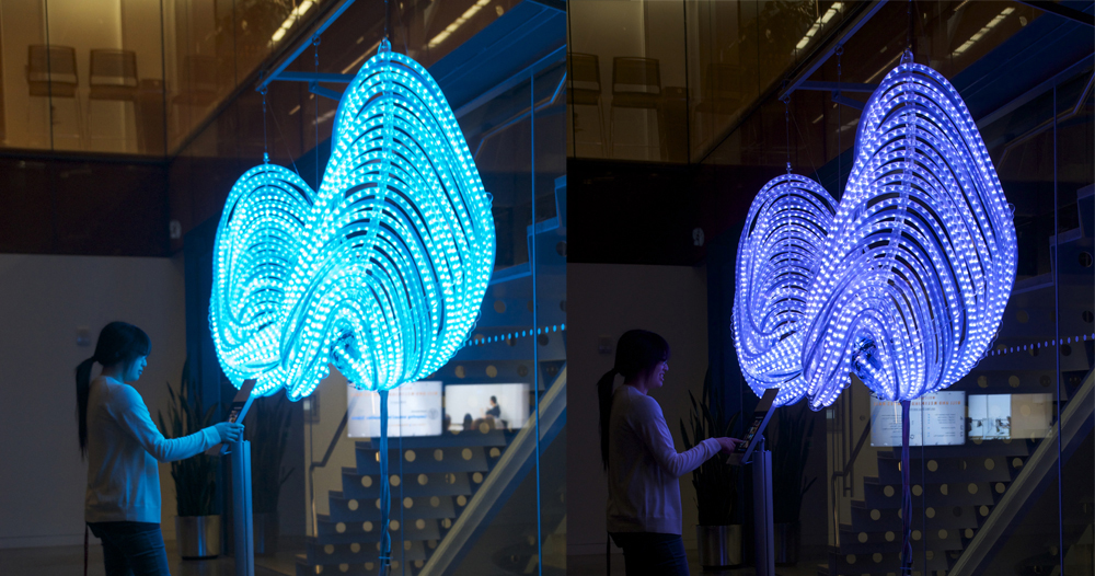 interactive art – Art & Technology Projects by Marie ...