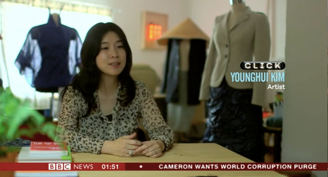 A screen grab from BBC Click episode, June 2015