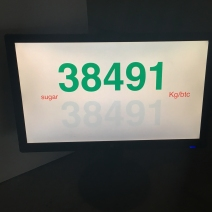 Sugar 1 Kg Screen Interface, Kim 2018